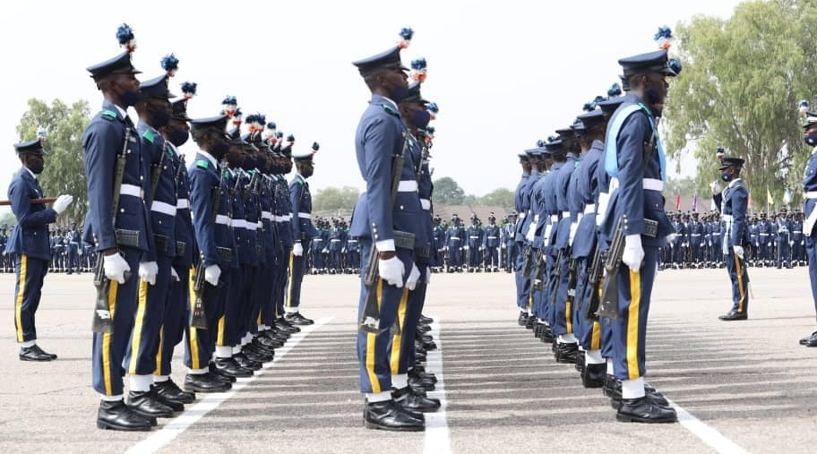 Passing Out Parade of NAF